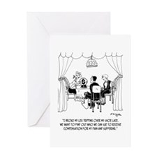 Fortune Teller to Plaintiffs Greeting Card