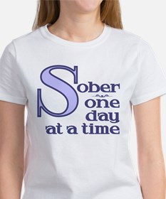Sober One Day At A Time Tee
