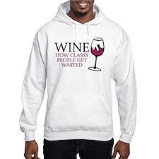 Wine Classy People Hoodie