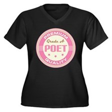 Premium quality Poet Women's Plus Size V-Neck Dark