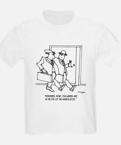 Disclaimers Are In The Eye of the Manipulator T-Shirt