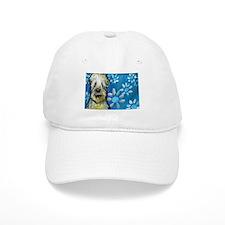 Wheaten Terrier flowers Baseball Baseball Cap