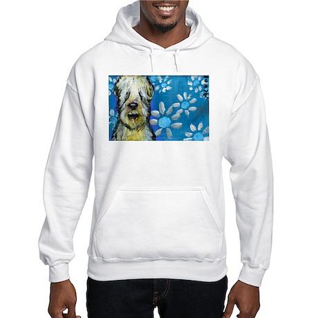 Wheaten Terrier flowers Hoodie