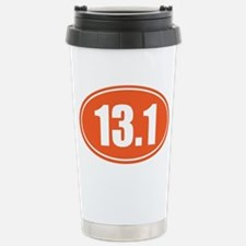 13.1 orange oval Stainless Steel Travel Mug