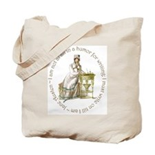 Jane Austen Writing Tote Bag