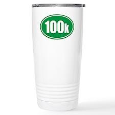 100k green oval Travel Mug