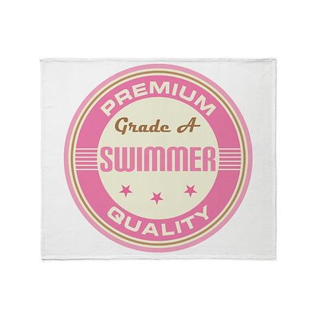 Premium quality Swimmer Throw Blanket