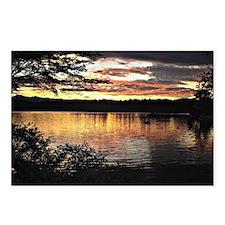 Kezar Lake, Maine, beauti Postcards (Package of 8)