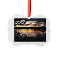 Kezar Lake, Maine, beautiful scen Ornament