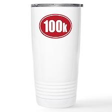 100k red oval Travel Mug