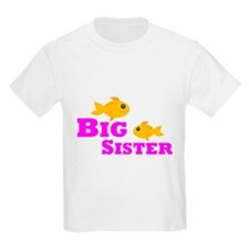 Big Sister Gold Fish T-Shirt