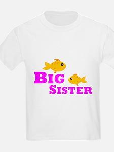 Big Sister Gold Fish T-Shirt