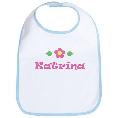 """Pink Daisy - """"Katrina"""" Bib"""