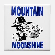 MOUNTAIN MOONSHINE Tile Coaster