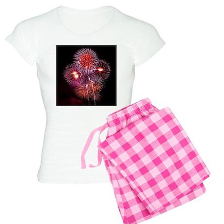 Firework002 Women's Light Pajamas
