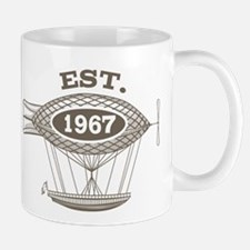 Vintage Birthday Est 1967 Mug