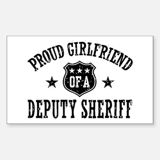 Proud Girlfriend of a Deputy Sheriff Decal