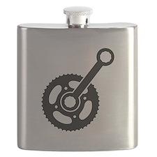 Bike wheel gear Flask