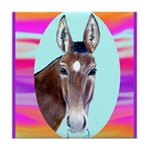Horses and Mules Tile Coaster