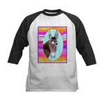 Horses and Mules Kids Baseball Jersey