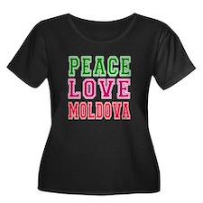 Peace Love Moldova T