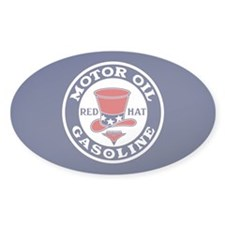 Red Hat Gasoline / Oil Decal