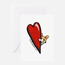 Love Corgis Greeting Card