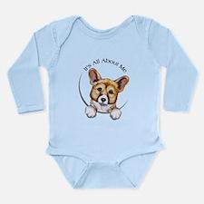 Classic Corgi IAAM Long Sleeve Infant Bodysuit
