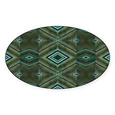 Olive Green Diamond pattern Decal