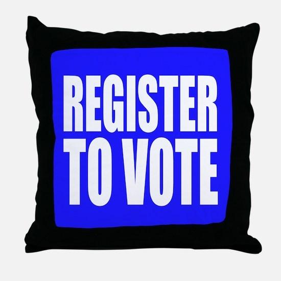 Register To Vote Throw Pillow
