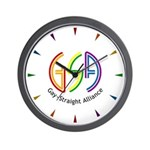 GSA Neon Wall Clock