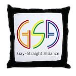 GSA Neon Throw Pillow
