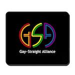 GSA Neon Black Mousepad
