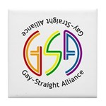 GSA Neon Tile Coaster