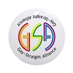GSA Neon Ornament (Round)