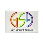 GSA Neon Rectangle Magnet (100 pack)