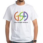 GSA Neon White T-Shirt