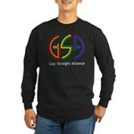 GSA Neon Long Sleeve Dark T-Shirt