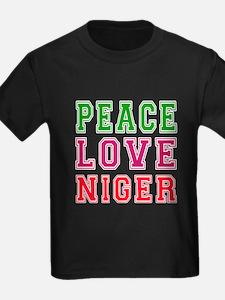 Peace Love Niger T