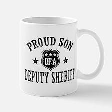 Proud Son of a Deputy Sheriff Mug