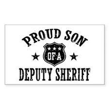 Proud Son of a Deputy Sheriff Decal