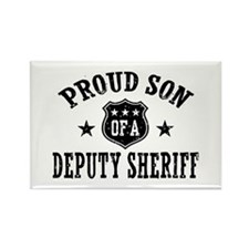 Proud Son of a Deputy Sheriff Rectangle Magnet