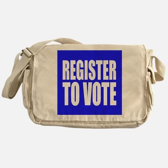 Register To Vote Messenger Bag