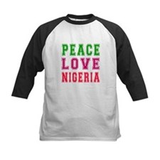 Peace Love Nigeria Tee