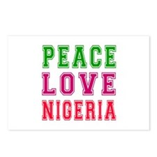 Peace Love Nigeria Postcards (Package of 8)