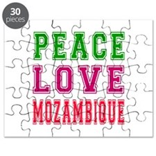 Peace Love Mozambique Puzzle