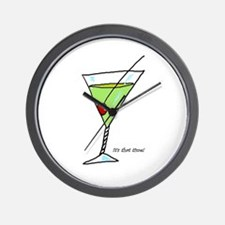 martini cocktail  Wall Clock