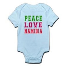 Peace Love Namibia Infant Bodysuit
