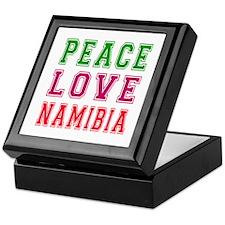 Peace Love Namibia Keepsake Box