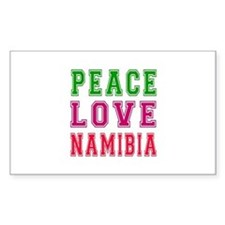 Peace Love Namibia Decal
